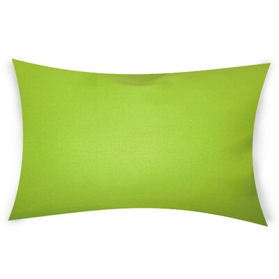 Odonoghue Cotton Lumbar Pillow Color: Green