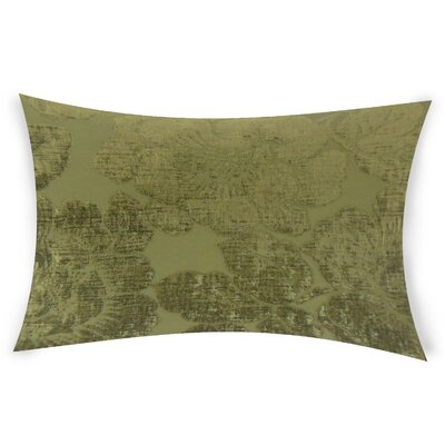 Estaugh Lumbar Pillow Color: Green