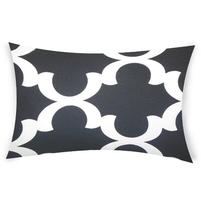 Eshelman Cotton Throw Pillow Color: Black
