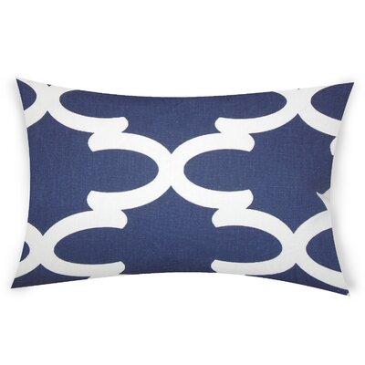 Eshelman Cotton Throw Pillow Color: Blue