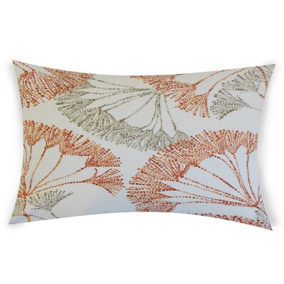 Bilal Cotton Lumbar Pillow Color: Orange