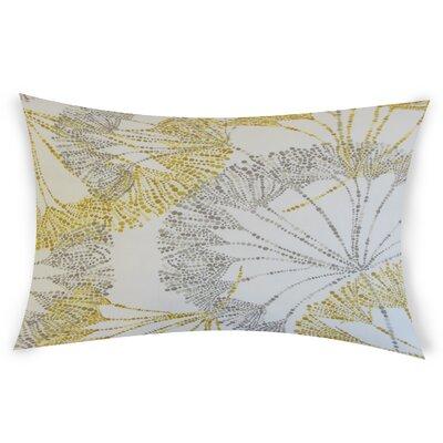 Bilal Cotton Lumbar Pillow Color: Yellow