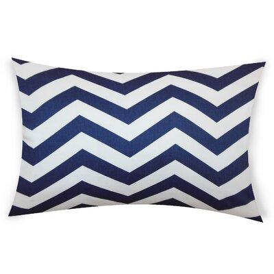 Colmenero Cotton Lumbar Pillow Color: Blue