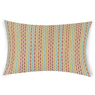 Netzer Lumbar Pillow Color: Pink
