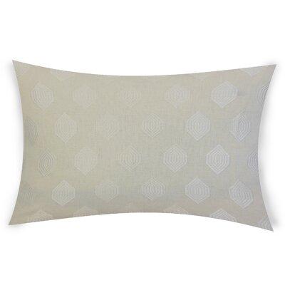 Oates Linen Lumbar Pillow Color: Ivory