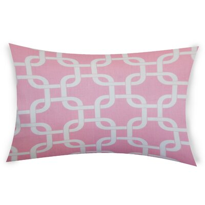 Eslinger Cotton Throw Pillow Color: Pink