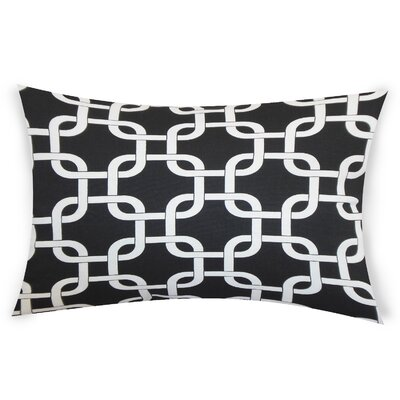 Eslinger Cotton Throw Pillow Color: Black