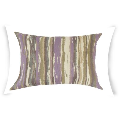 Harpe Lumbar Pillow Color: Purple