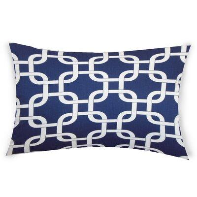 Eslinger Cotton Throw Pillow Color: Blue
