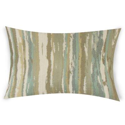 Harpe Lumbar Pillow Color: Green