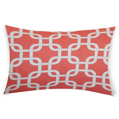 Eslinger Cotton Throw Pillow Color: Orange