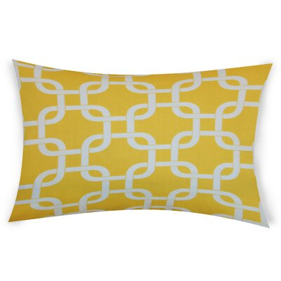 Eslinger Cotton Throw Pillow Color: Yellow