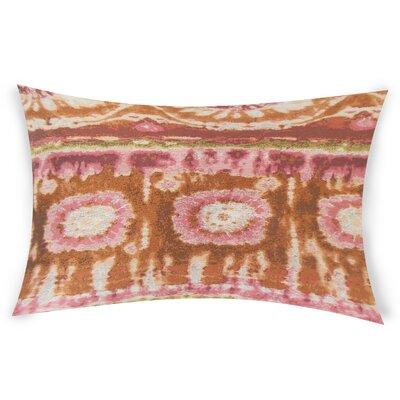 Ocasio Lumbar Pillow Color: Red