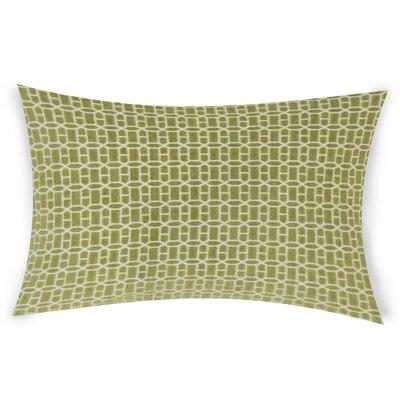 Errico Lumbar Pillow Color: Green