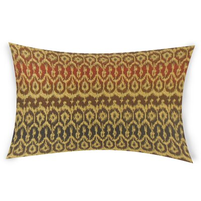 Neubauer Lumbar Pillow Color: Brown