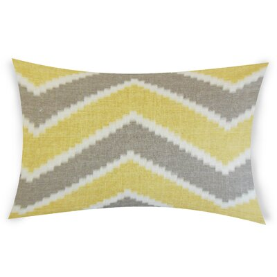 Oatman Linen Lumbar Pillow Color: Yellow