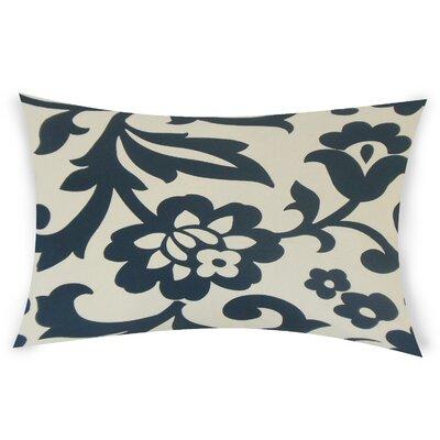 Glen Arbor Lumbar Pillow Color: Blue