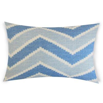 Oatman Linen Lumbar Pillow Color: Blue