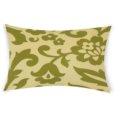 Glen Arbor Lumbar Pillow Color: Green