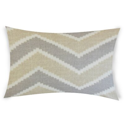 Oatman Linen Lumbar Pillow Color: Beige