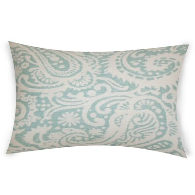 Gilbrae Linen Lumbar Pillow Color: Blue