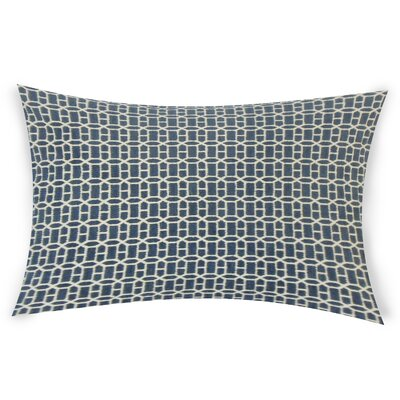 Errico Lumbar Pillow Color: Blue