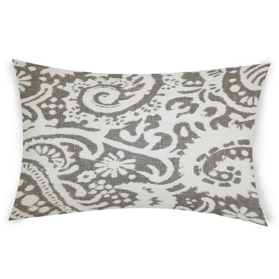 Gilbrae Linen Lumbar Pillow Color: Gray