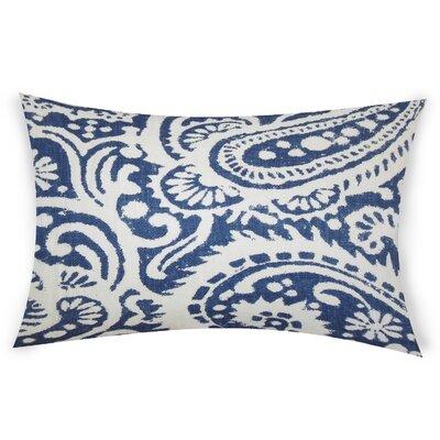 Gilbrae Linen Lumbar Pillow Color: Light Blue