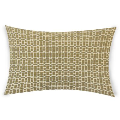 Errico Lumbar Pillow Color: Brown