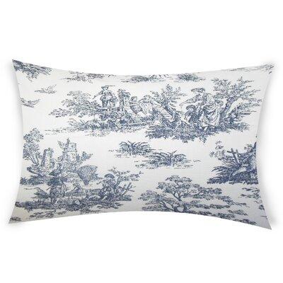 Nevin Cotton Lumbar Pillow Color: Black