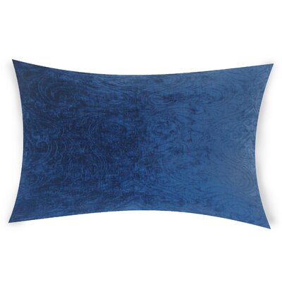 Neuman Lumbar Pillow Color: Blue