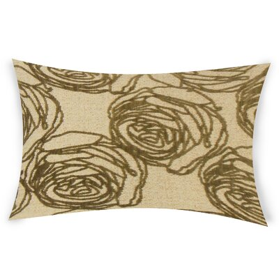 Mccool Lumbar Pillow Color: Brown