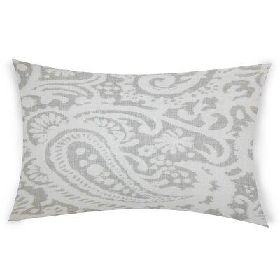Gilbrae Linen Lumbar Pillow Color: Light Gray
