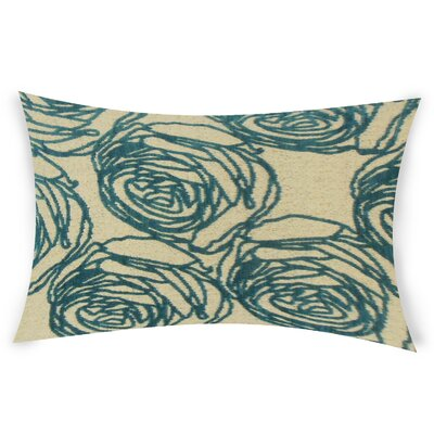 Mccool Lumbar Pillow Color: Turquoise