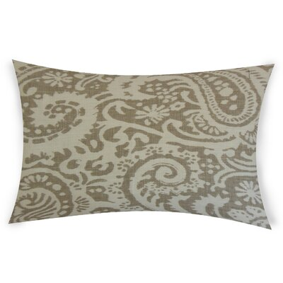Gilbrae Linen Lumbar Pillow Color: White