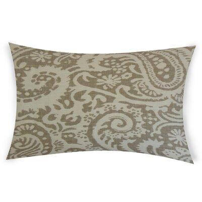 Gilbrae Linen Lumbar Pillow Color: White