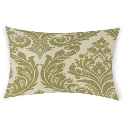 Ericksen Lumbar Pillow Color: Green