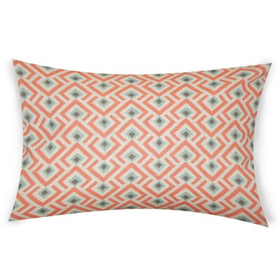 Colunga Cotton Lumbar Pillow Color: Multi