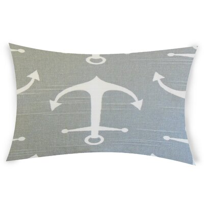 Diggs Cotton Lumbar Pillow Color: Gray