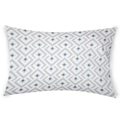 Colunga Cotton Lumbar Pillow Color: Gray