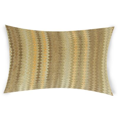 Nevarez Lumbar Pillow Color: Brown