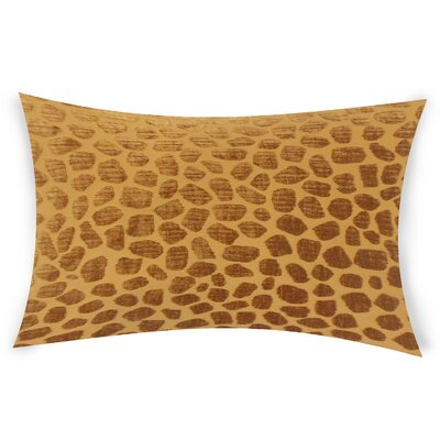 Nevels Lumbar Pillow Color: Brown