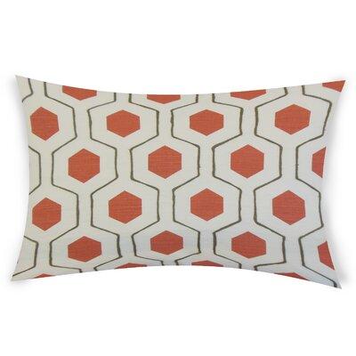 Ohearn Cotton Lumbar Pillow Color: Pink