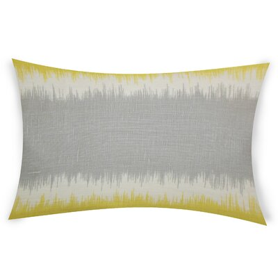 Egan Linen Lumbar Pillow Color: Gray