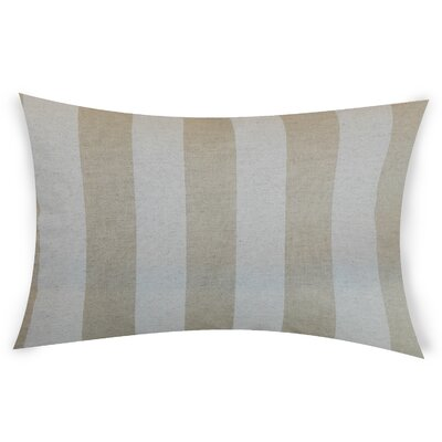 Colvard Cotton Lumbar Pillow Color: Brown
