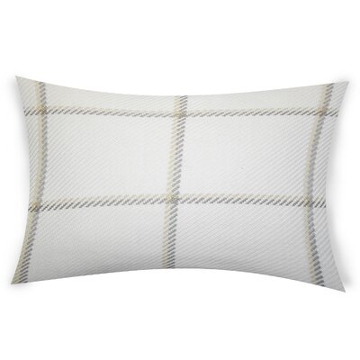 Comerford Cotton Lumbar Pillow Color: Beige