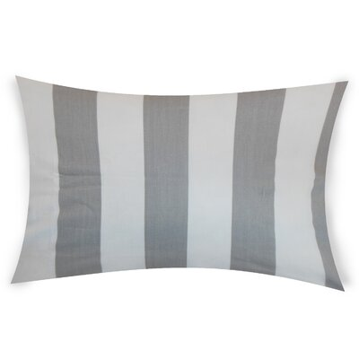 Colvard Cotton Lumbar Pillow Color: Gray
