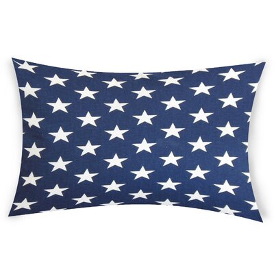 Fegley Cotton Lumbar Pillow Color: Blue