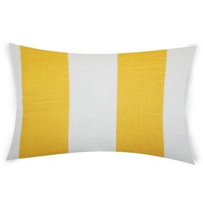 Digiacomo Janice Cotton Lumber Pillow Color: Yellow
