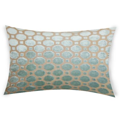 Ogata Velvet Lumbar Pillow Color: Light Blue